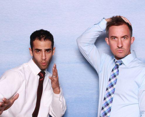 Orlando Photobooth Rental Backdrop blue