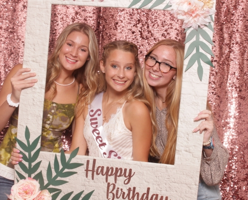orlando photobooth sweet 16